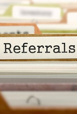 Referrals without Asking